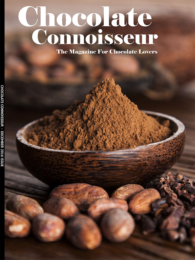 Chocolate Connoisseur December 2016 Issue Cover