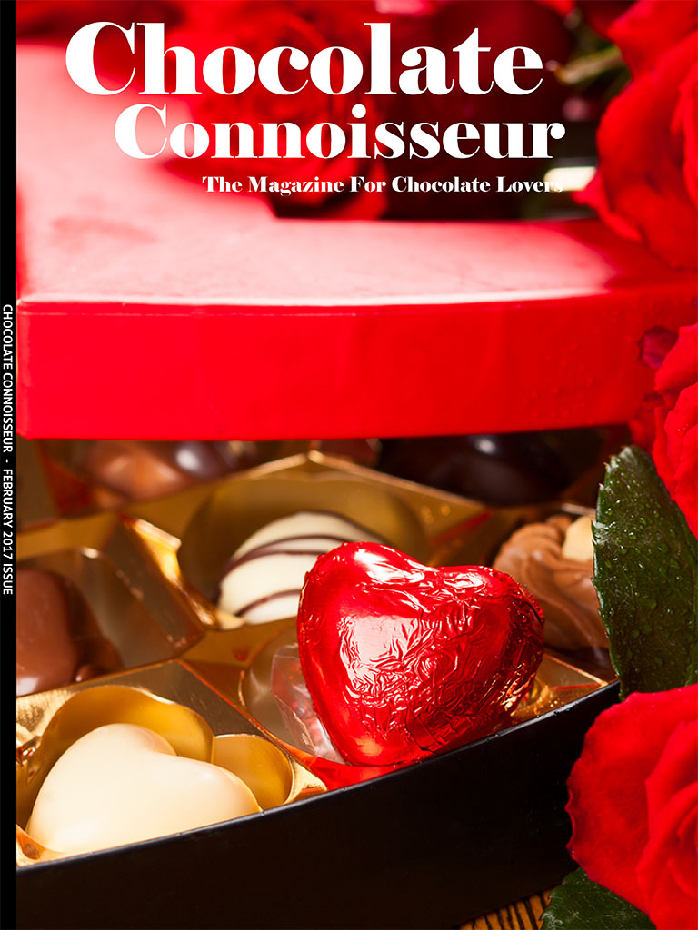 Chocolate Connoisseur February 2017 Issue Cover