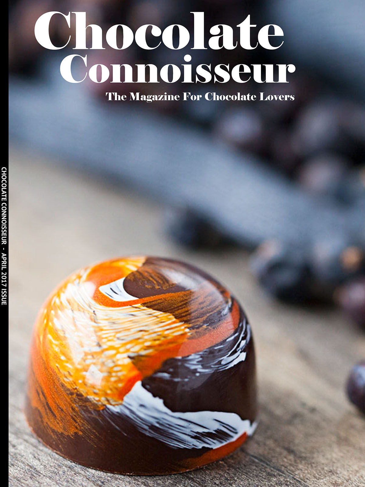 Chocolate Connoisseur April 2017 Issue Cover
